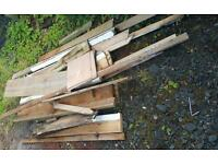 Various wood for free