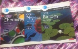 OCR Biology, OCR Chemistry and PCR Physics GCSE Revision Guide
