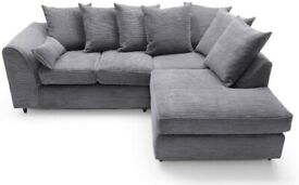 Dylan Sofa in Lowest Prices - Good Quality Jumbo Cord and Crushed Velvet Sofas in Corner and 3+2