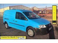 Volkswagen Caddy Maxi 1.9 TDI Van-53K Miles Only-1 Owner , FSH-6 Stamps ,1YR MOT,Air Con, Warranty