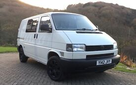 VW T4 Transporter - 102 bhp - SWB - Rare Twin Sliding rear doors