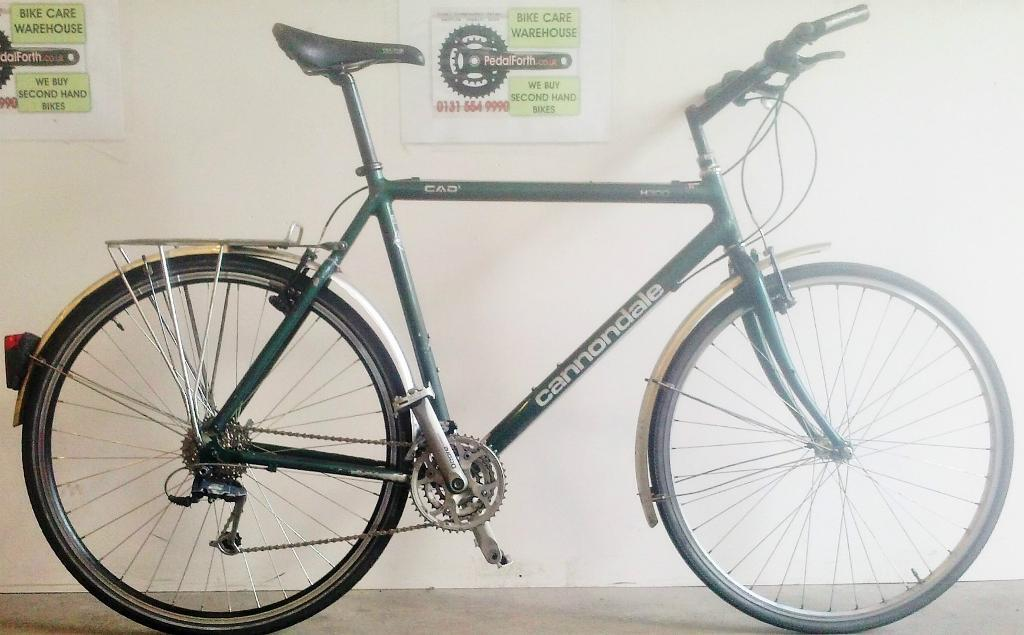 Used Cannondale H300 Hybrid Bike Pedal Forth Leith In The