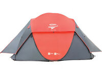 Gelert Quick Pitch DS 4 Man Pop Up Tent