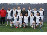 11 aside mens football team looking for players, sunday football team ah2g