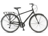 """JAMIS """"COMMUTER"""" 2 Hybrid black bicycle gents"""
