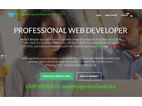 Professional Website, NO Contract only £90 with SEO + HOSTING- Skycloud