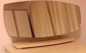 Free standing Oval Dressing Table Mirror