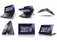 Lenovo Yoga 13 Intel i7 3517u 1.9, 4gb, 128 SSD Convertible TouchScreen Laptop UltraBook Tablet