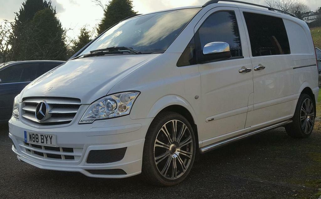 mercedes vito sport x brabus in liskeard cornwall gumtree. Black Bedroom Furniture Sets. Home Design Ideas