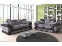 BRAND NEW SOFAS ***JUMBO CORD 3+2 SOFA SETS ALSO AVAILABLE AS A CORNER SUITE***2 COLOURS TO CHOOSE