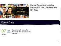 Kumar Sanu & Anuradha Paudwal - The Greatest Hits UK Tour tickets