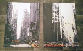 American Landscape Wall Art | Yellow Cabs | Wall Hanging | Beautiful | Must Go | Rotherham