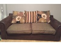 4 Seater SCS Sofa, Armchair & Footstool