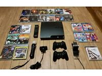 Sony PS3 MEGA BUNDLE with 28 Games + Accesories