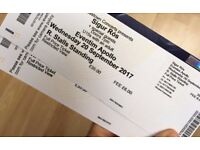 2 tickets for Sigur Ros Wed 20 September @ Hammersmith Apollo