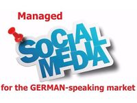 Managed Social Media Marketing for the GERMAN-speaking market