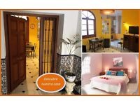 2 Apartments in Cádiz-Spain Centro-Playa-Sol, Internet, Garage, Airport nearby.