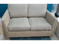 M&S RATTAN CONSERVATORY FURNITURE