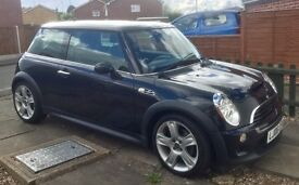 Mini Cooper S, Sat Nav, Full Leather Seats, Auto, Black