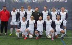 Join 11 aside soccer team in london, find soccer team in London: Ref: JOIN FOOTBALL TEAM LONDON