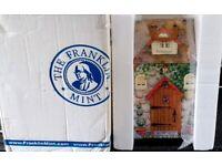 Franklin Mint - Holly The Holiday Bear + wardrobe + dress's - all C.O.A'S- £100 o.V.n.o
