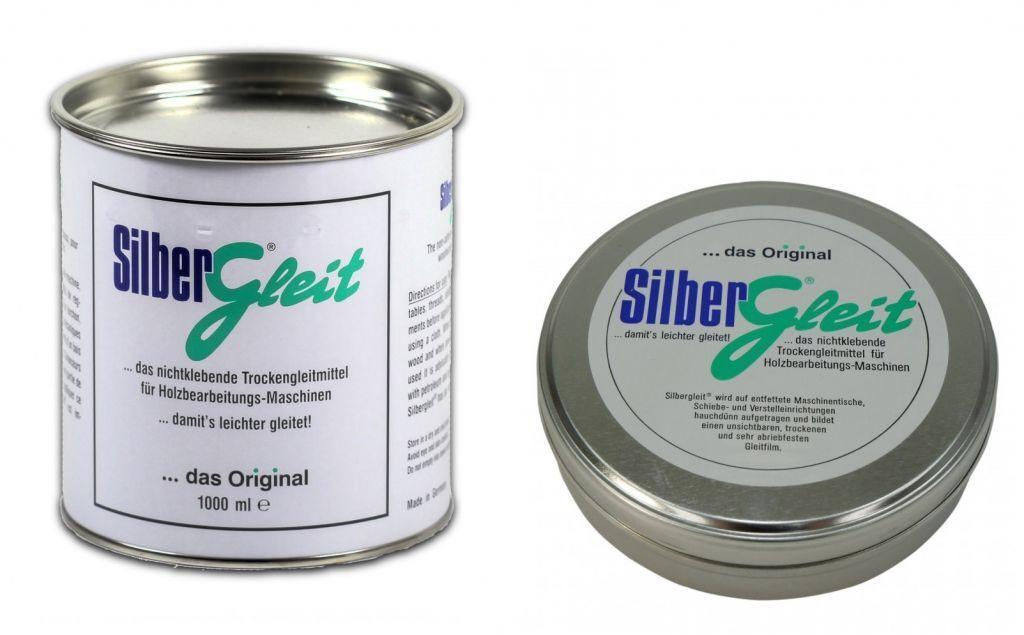 SILBERGLEIT Original Trockengleitmittel für Holzbearbeitungsmaschinen in Dose