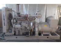 Perkins generator KVA 270, 1987 inline C6 engine (254 hours) colchester