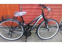 New mizani vivo hybrid bike
