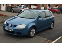VW GOLF 2006 1.6 Petrol. Cruise control, excellent engine, drives easy, 2 previous owners