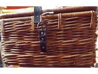 Ikea Bastant Wicker Hamper Picnic Basket £5