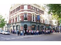 Kitchen assistant needed for vibrant West London pub! Competitive pay