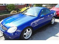 Mercedes SLK 230 Kompressor, 1998, Mint Condition, Full MOT, 89K Miles