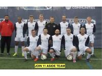 1 DEFENDER, 1 MIDFIELDER NEEDED:Join South London Football Team today. Play football in London, H34