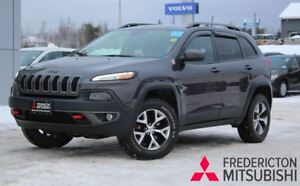 2016 Jeep Cherokee TRAILHAWK | 4X4 | BACKUP CAM | TOUCHSCREEN