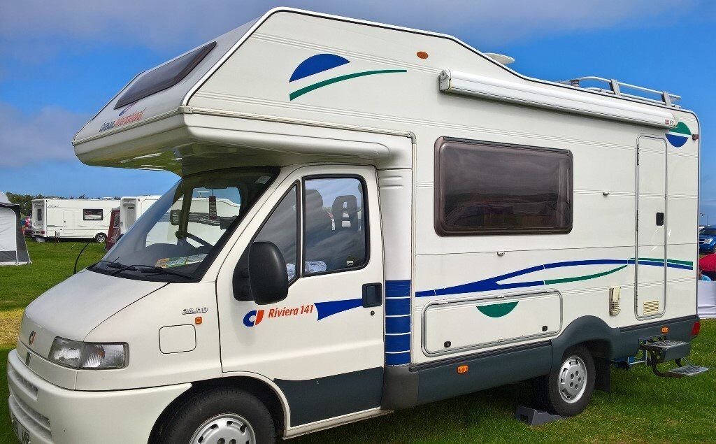 FIAT Ducato Riviera 141 2.8 JTD Diesel, 6 berth with 6 travelling seats.