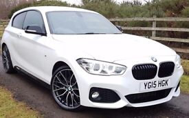 VERY HI SPEC. BMW 125d M SPORT WITH M PERFORMANCE PACK - VERY RARE