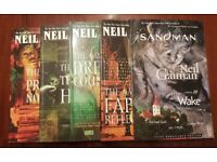 Collection of Neil Gaiman's SANDMAN graphic novels