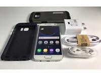 Samsung S7 32GB white colour Locked on EE, T-Mobile, Orange and Vergin U.K. networks!