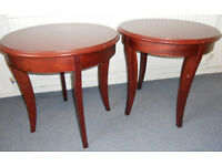 Round Bistro or Pub Tables, Occasional or Lamp Tables - £15 each