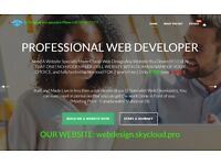 Get any professional Website you desire for only £75 no hidden fees - hosting and SEO by Skycloud