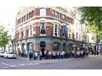 Full Time/Part Time Bar & Waiting Staff Required