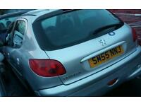 PEUGEOT 206 4DR HATCH 1.1CC late 2005 model Stunning