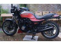 Kawasaki GPZ750 A Black and Red 1983 Low Miles Classic Restoration Project Repair Spares