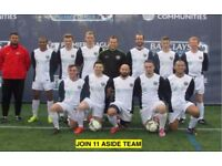 1 MIDFIELDER, 1 DEFENDER NEEDED: Join South London Football Team today. Play football in London, 24E