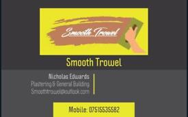 Smooth trowel