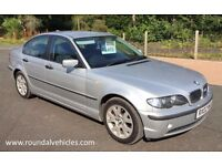 BMW 316 SE 2002 ( m sport design ) saloon LOW MILES 84k from new 12 mths mot, lovely car for age !