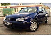 *** BARGAIN *** 2002 VW GOLF 1.9 TDI SE, MANUAL, 12 MONTH MOT, FULL SERVICE HISTORY, EXCELLENT CAR