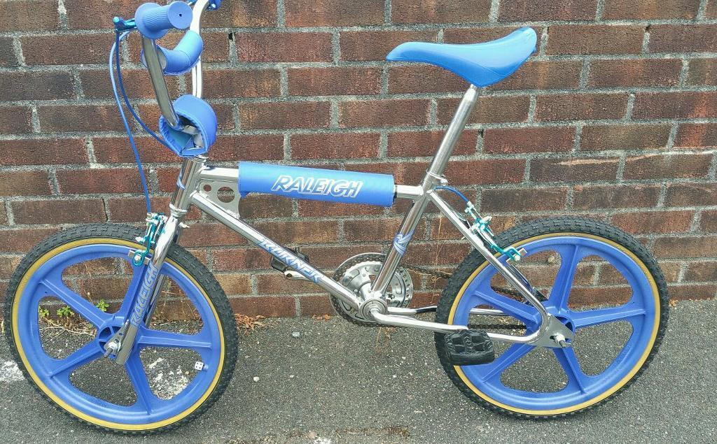 Raleigh Burner Mark 1 Quot 1983 Quot Old School Bmx Chrome In Fantastic Condition In Plymouth Devon