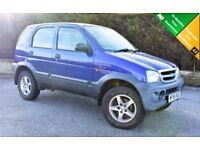 2005 Daihatsu Terios 1.3 Tracker 5dr 12 MONTHS MOT PERFECT EXAMPLE 15m Warranty + FREE AA cover