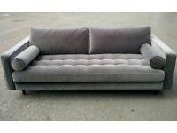 Brand New! Made Com Scott 3 seater sofa in gret RRP£999